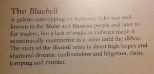 Bluebell mine