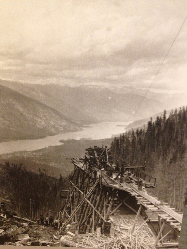 Building Canada's railroad through the Kootenays.